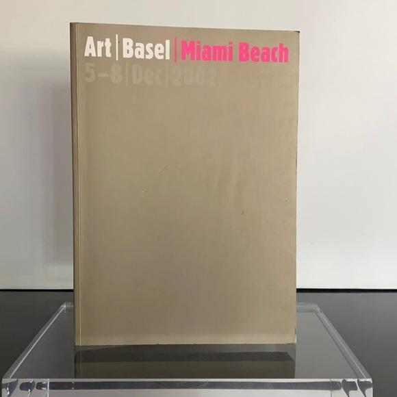 ART BASEL ~ MIAMI BEACH ~ 2002 ~ CATALOG